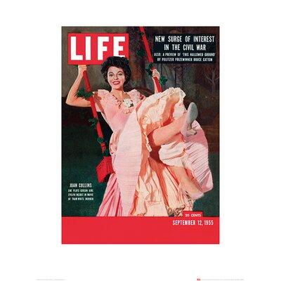Art Group Time Life - Joan Collins Vintage Advertisement