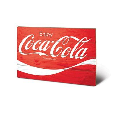 Art Group Coca-Cola Logo Vintage Advertisement Plaque