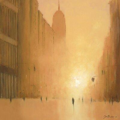 Art Group Morning Light - 5th Avenue by Jon Barker Canvas Wall Art