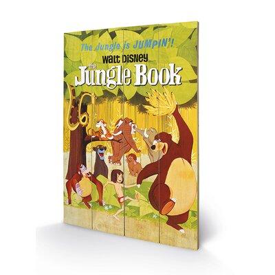Art Group The Jungle Book Vintage Advertisement Plaque