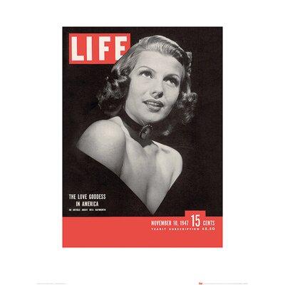 Art Group Time Life - Rita Hayworth Vintage Advertisement