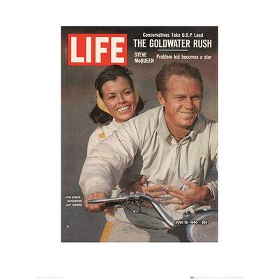 Art Group Time Life - Steve McQueen Vintage Advertisement