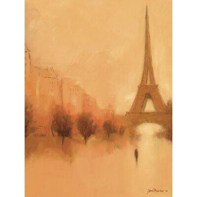 Art Group Stranger in Paris by Jon Barker Canvas Wall Art