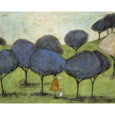 Art Group Sniffing the Lilac by Sam Toft Canvas Wall Art