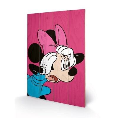 Art Group Minnie Mouse, Shocked Graphic Art Plaque