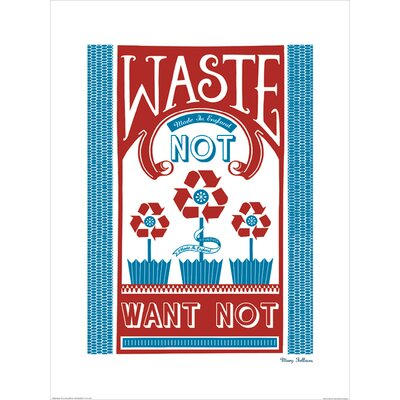 Art Group Waste Not Want Not by Mary Fellows Graphic Art