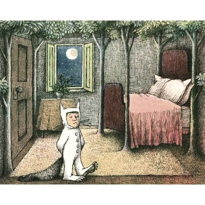 Art Group Max's Room by Maurice Sendak Vintage Advertisement Canvas Wall Art