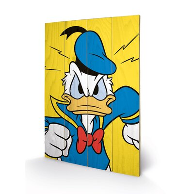 Art Group Donald Duck Mad Vintage Advertisement Plaque