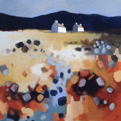 Art Group Country Cottages by Derek Melville Canvas Wall Art