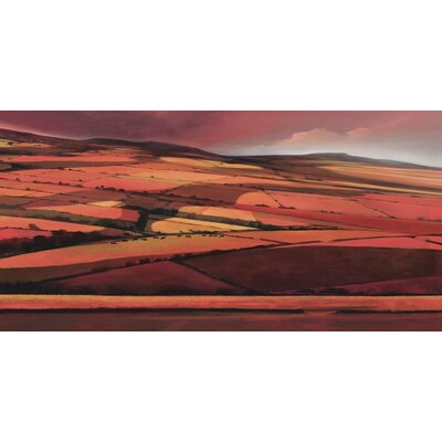 Art Group Afternoon Shadows by Jonathan Sanders Art Print on Canvas