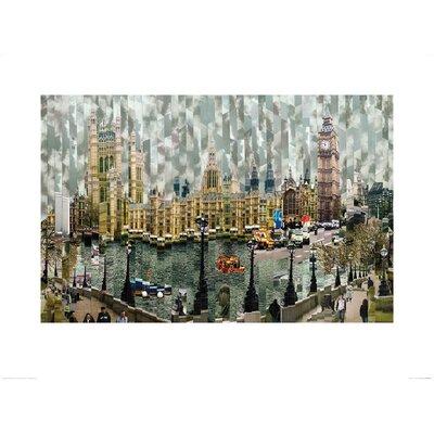 Art Group Londres II by Serge Mendjisky Graphic Art
