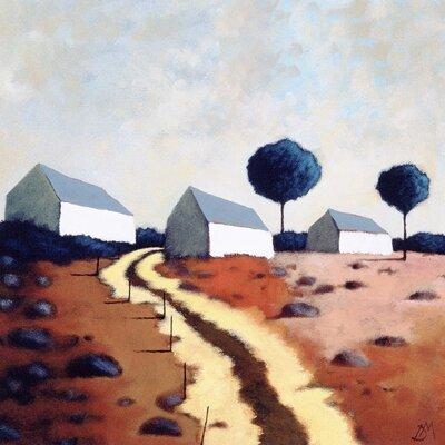 Art Group Hillside Path by Derek Melville Canvas Wall Art