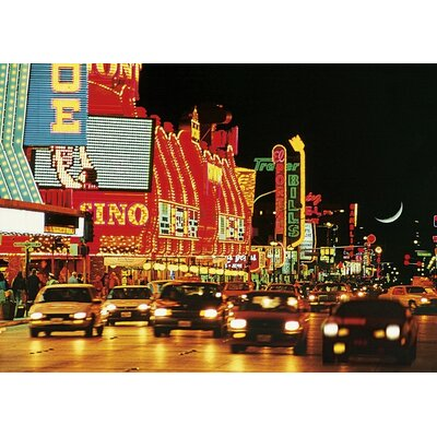 Art Group Fremont Street - Las Vegas Canvas Wall Art
