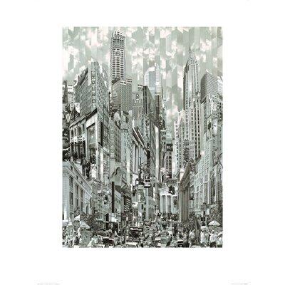 Art Group Uptown Loop by Serge Mendjisky Graphic Art