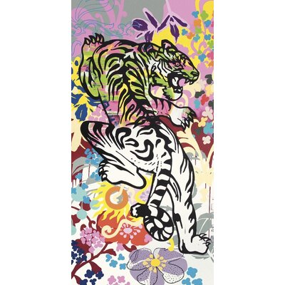 Art Group Graffiti Jungle by Ben Allen Canvas Wall Art
