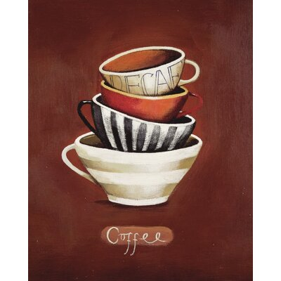 Art Group Coffee by Nicola Evans Canvas Wall Art