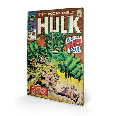 Art Group Hulk, Big Issue Vintage Advertisement Plaque