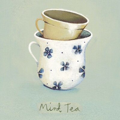 Art Group Mint Tea by Nicola Evans Canvas Wall Art