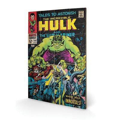 Art Group Hulk, Tales to Astonish Vintage Advertisement Plaque