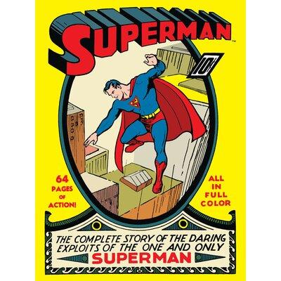 Art Group Superman No.1 Vintage Advertisement on Canvas