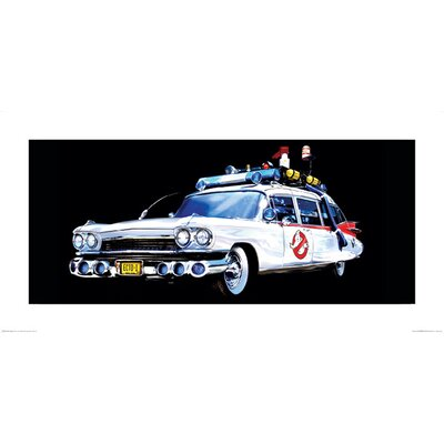 Art Group Ghostbusters, Car Graphic Art