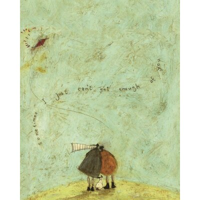 Art Group I Just Can't Get Enough of You by Sam Toft Canvas Wall Art