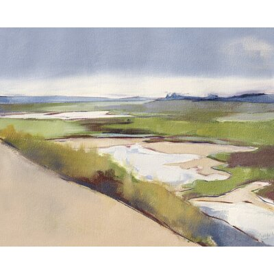 Art Group Walberswick Marsh by Charlotte Jordan Art Print on Canvas