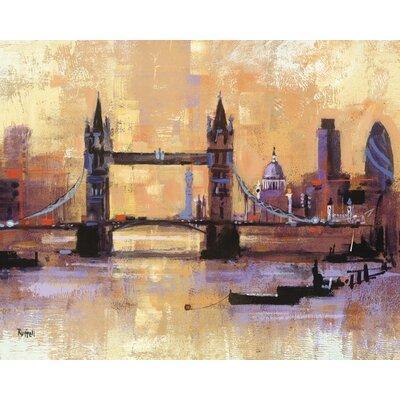 Art Group Tower Bridge, London by Colin Ruffell Canvas Wall Art