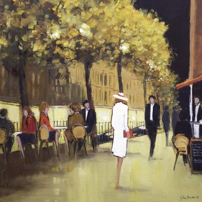 Art Group Knightsbridge II by Jon Barker Art Print on Canvas