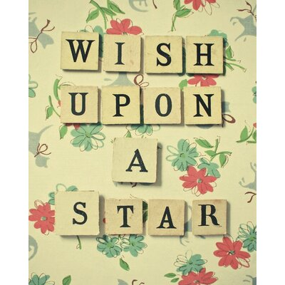 Art Group Wish Upon a Star by Cassia Beck Typography on Canvas