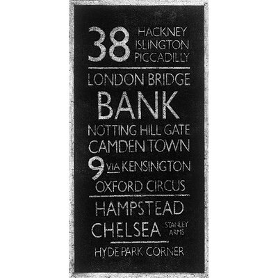 Art Group London Destinations by Barry Goodman Typography