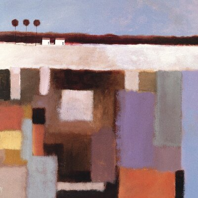Art Group Looking to the Horizon by Derek Melville Canvas Wall Art