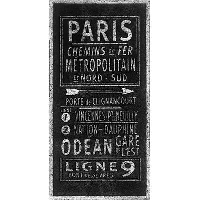 Art Group Paris by Barry Goodman Typography