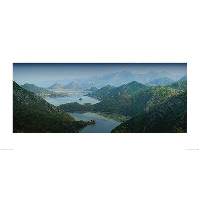 Art Group Lake Skadar, Montenegro by Rod Edwards Photographic Print