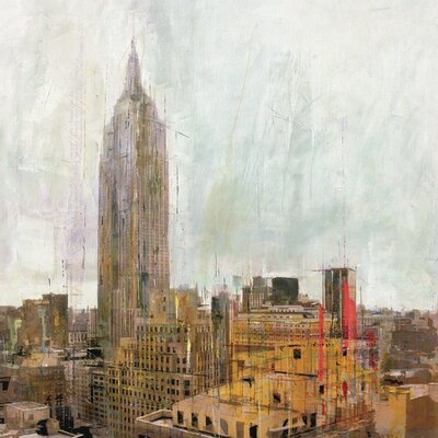 Art Group New York 01 by Markus Haub Art Print on Canvas