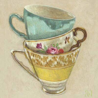 Art Group 3 Cups by Andrea Letterie Canvas Wall Art