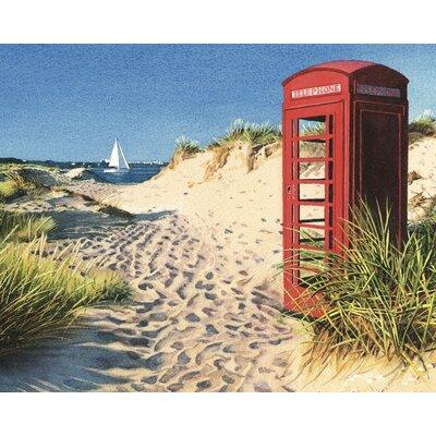 Art Group Beach Kiosk by Margaret Heath Photographic Print on Canvas