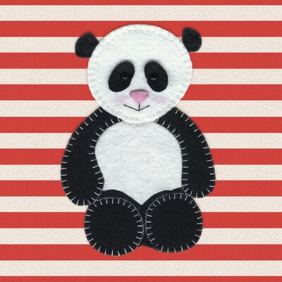 Art Group Cute Panda by Catherine Colebrook Canvas Wall Art