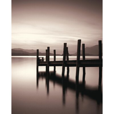 Art Group Landing Stage, Derwent Water by Mike Shepherd Canvas Wall Art