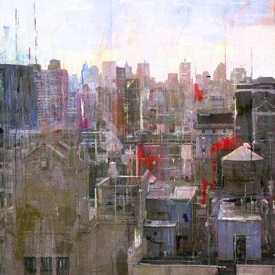 Art Group New York 03 by Markus Haub Art Print on Canvas