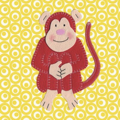 Art Group Cheeky Monkey by Catherine Colebrook Canvas Wall Art