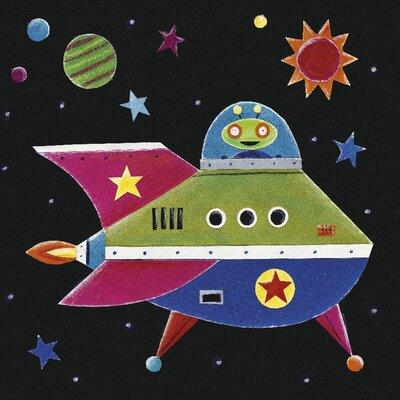 Art Group Spaceship by Simon Hart Canvas Wall Art