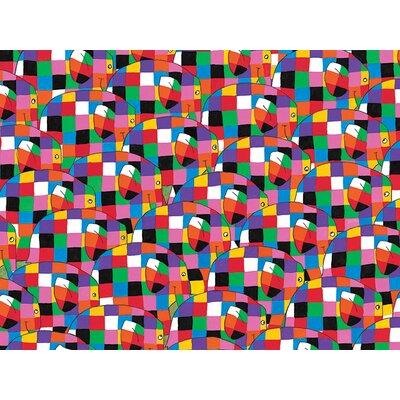 Art Group Elmer, Pattern by David McKee Canvas Wall Art