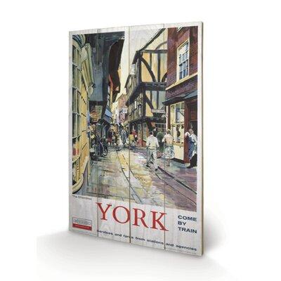 Art Group York the Shambles Vintage Advertisement Plaque