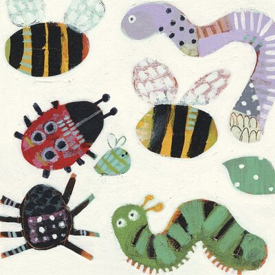 Art Group Creepy Crawlies by Anne Davies Canvas Wall Art