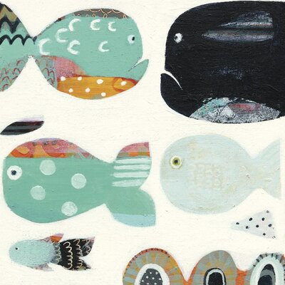 Art Group Funny Fish by Anne Davies Canvas Wall Art