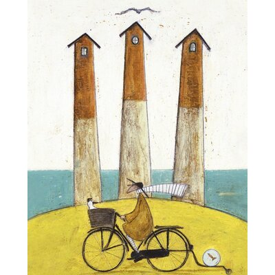 Art Group The Square, the Round and the Arched by Sam Toft Canvas Wall Art