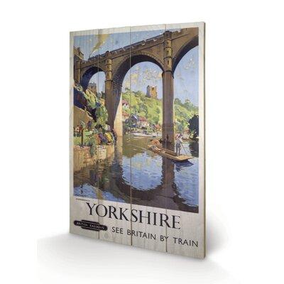 Art Group Yorkshire Knaresborough Vintage Advertisement Plaque