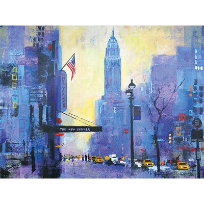 Art Group NY 34st. by Colin Ruffell Art Print on Canvas