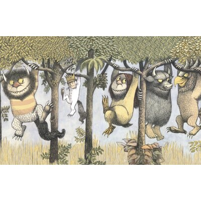 Art Group Let the Wild Rumpus Start II by Maurice Sendak Vintage Advertisement Canvas Wall Art